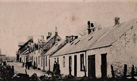 Typical Miners Cottages - Back Row