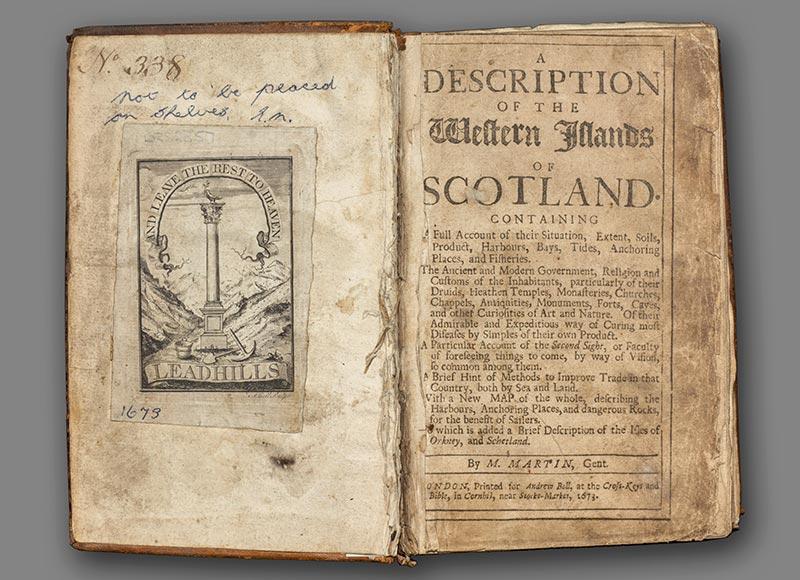 Description of the Western Islands of Scotland