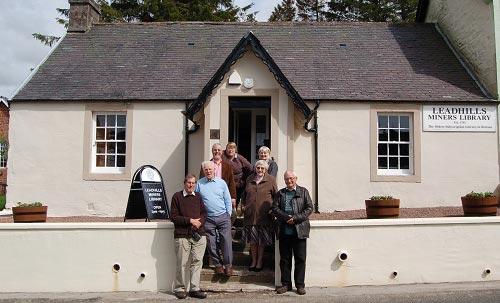 Leadhills miner's Library trustees