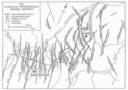 Leadhills Ore Veins