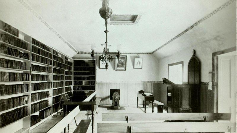 Leadhills Miners' Library Interior