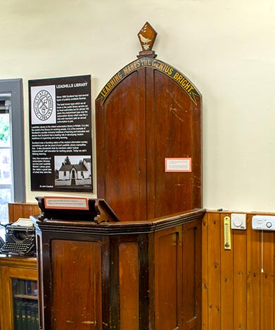 Library Pulpit