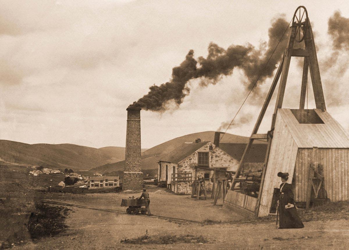 Glengonnar Mine, Wilson's Shaft c.1900s