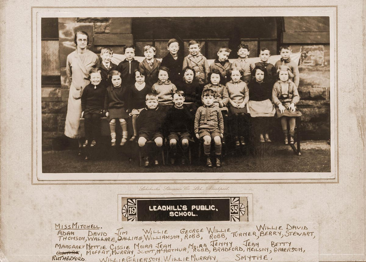 Leadhills Public School 1935