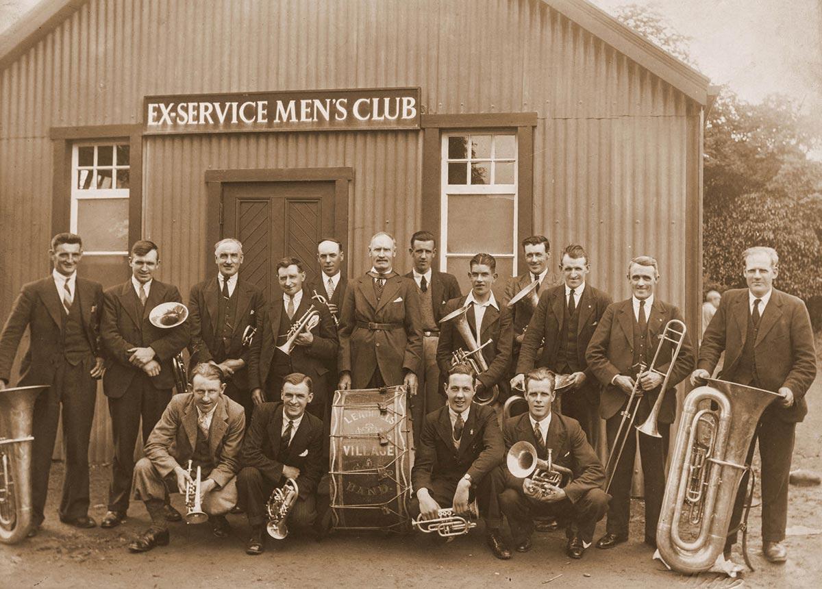 Leadhills Silver Band 1935